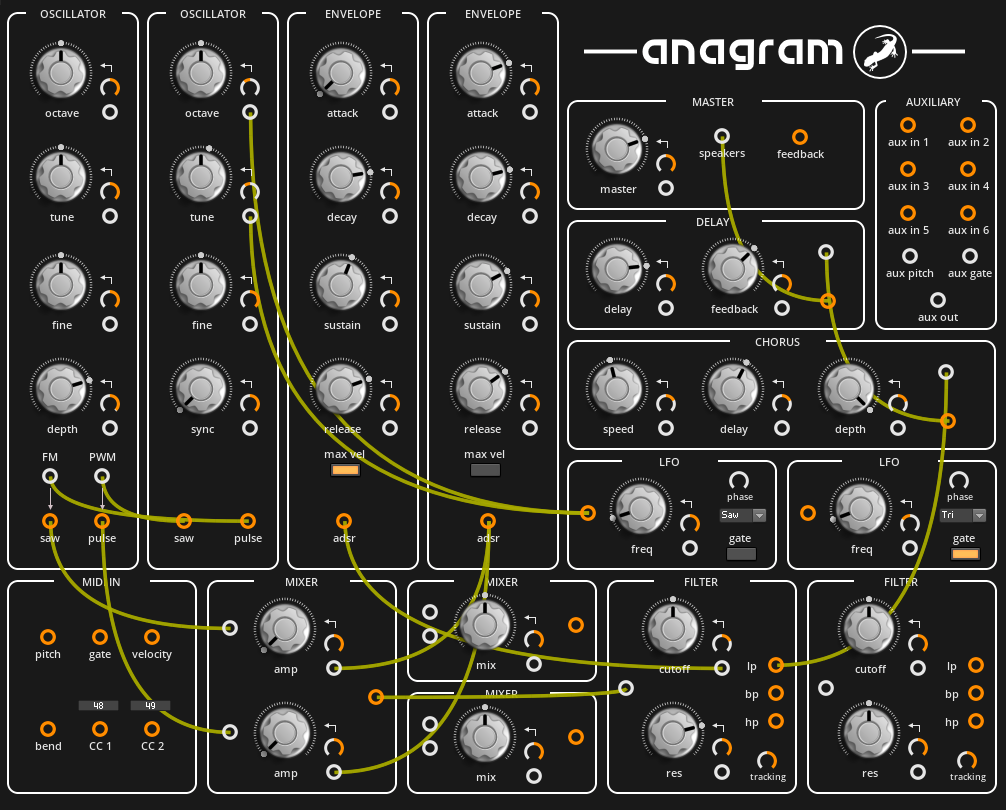 Anagram 2.0 synth